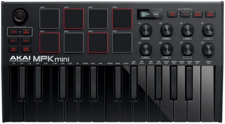 AKAI-MPK-Mini-MK3-nero