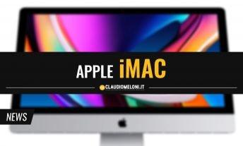 Il Nuovo - e ultimo - iMac con processore Intel resta il Desktop Numero 1 per l'Home Studio