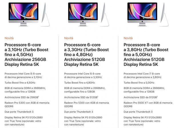 iMac 2020 Intel