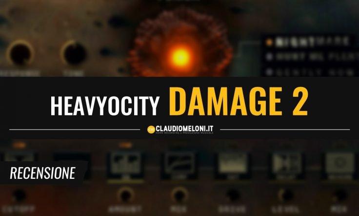 Damage 2 - le (nuove) Percussioni Aggressive per Kontakt di Heavyocity   Recensione