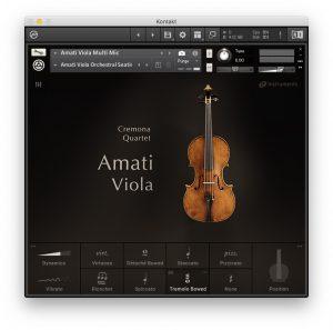 Cremona Quartet - Amati Viola