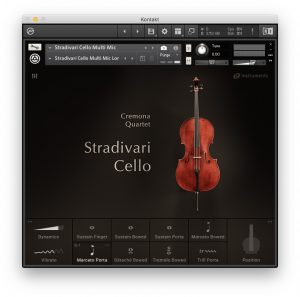 Cremona Quartet - Stradivari Cello