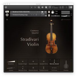 Cremona Quartet - Stradivari Violin