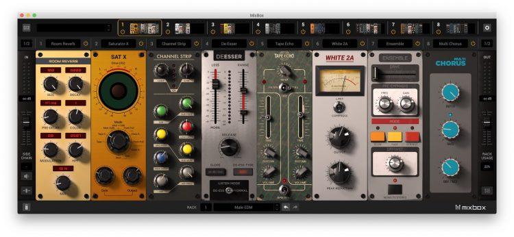 IK Multimedia MixBox App stand-alone