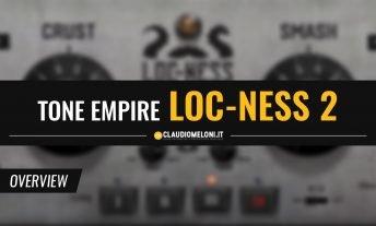 Loc-Ness 2 - il Plugin per il Mix della Batteria di Tone Empire