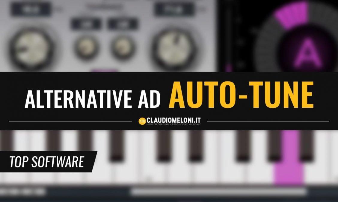 5 Alternative ad AutoTune anche Free per Windows e Mac