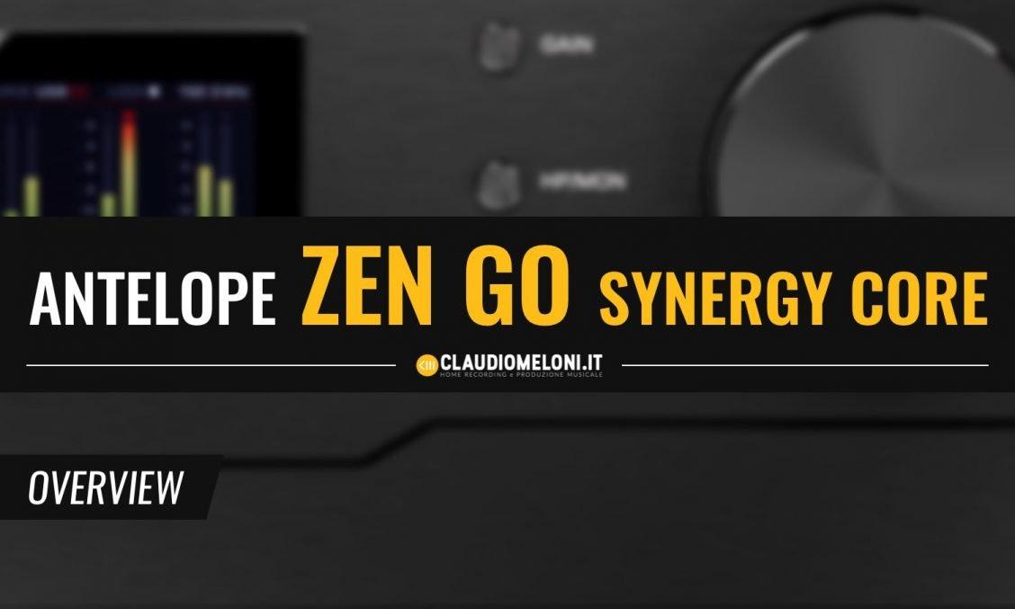 Zen Go Synergy Core - la nuova Scheda Audio con DSP Integrato di Antelope