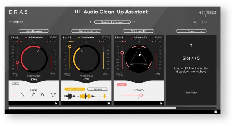 Audio Clea-Up Assistant