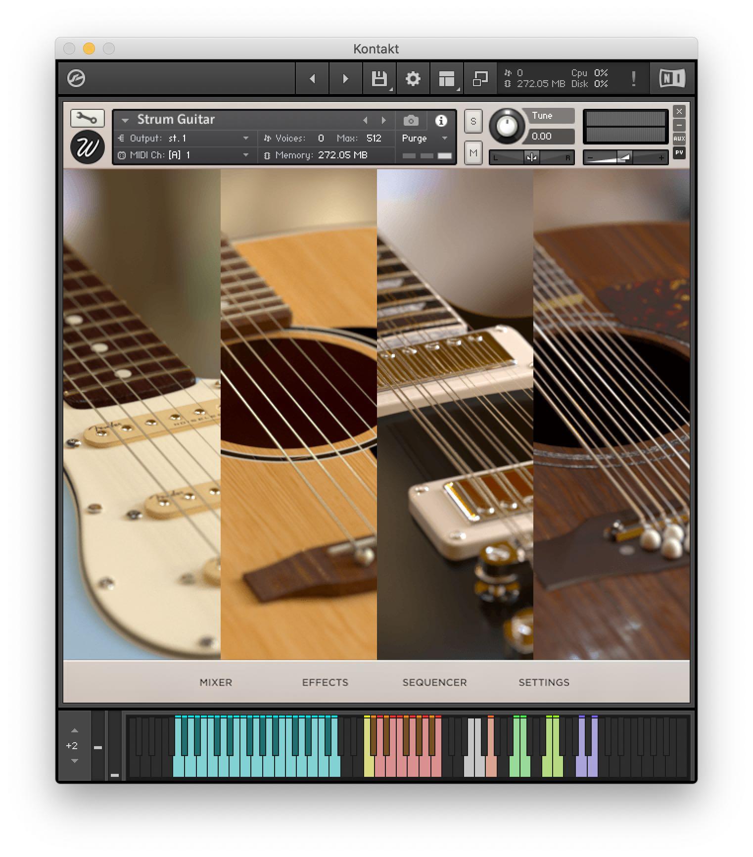 Wavesfactory: Strum Guitar