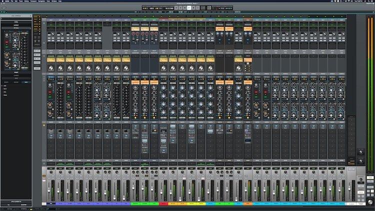 Il Mixaggio Analogico sulla DAW - Universal Audio LUNA